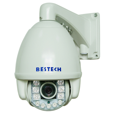 Intelligent IR Illumination 150M 7inch High Speed Dome Camera With PWM Function
